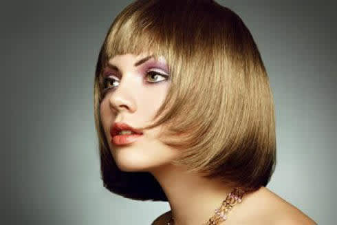 Super stylish short bob