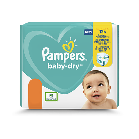 Couches Pampers Baby Dry Envie De Plus