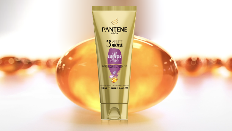 Θαυματουργό Conditioner 3 Λεπτών Pantene Pro-V Hair Superfood
