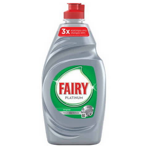 Fairy Platinum Original Υγρό Πιάτων 400ml
