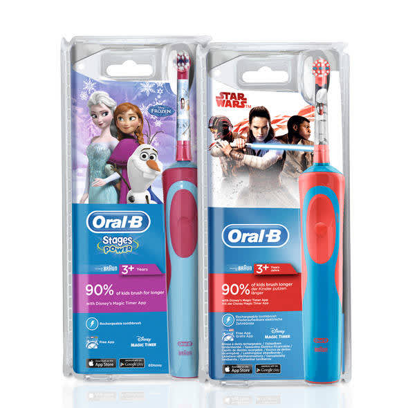 Oral-B Stages Star Wars e Frozen