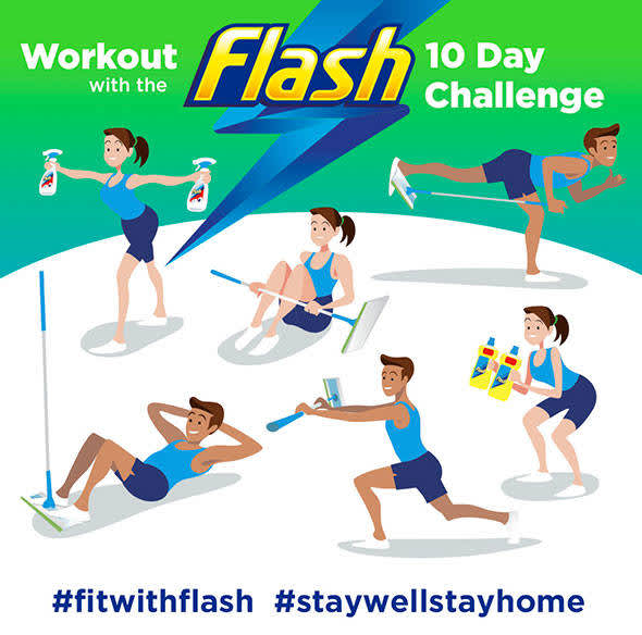 It's time to get #FitWithFlash! | SuperSavvyMe Great Britain