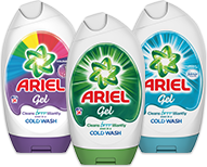 Ariel Washing Gel