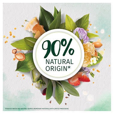 90% Natural origin ingredients