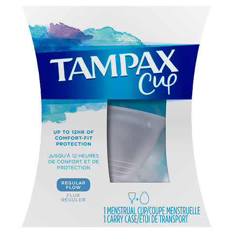 Size - Large Wave Menstrual Cup Free Case The Most Comfortable Menstrual Cup and Best Removal Stem