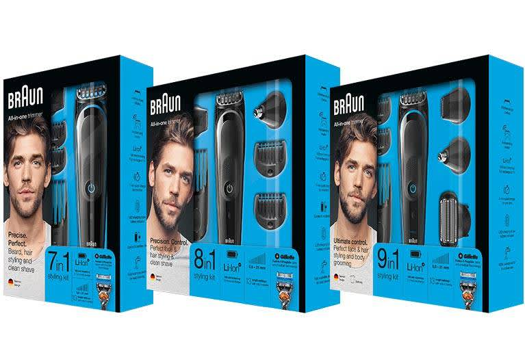 Braun Series5 Multigrooming-Kits