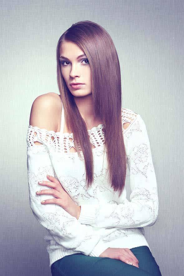 5 Simple Hairstyles For Straightened Hair