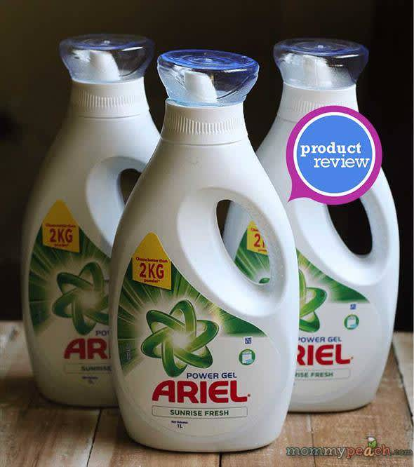 Ariel Power Gel For Better Laundry Care | EverydayMe Philippines