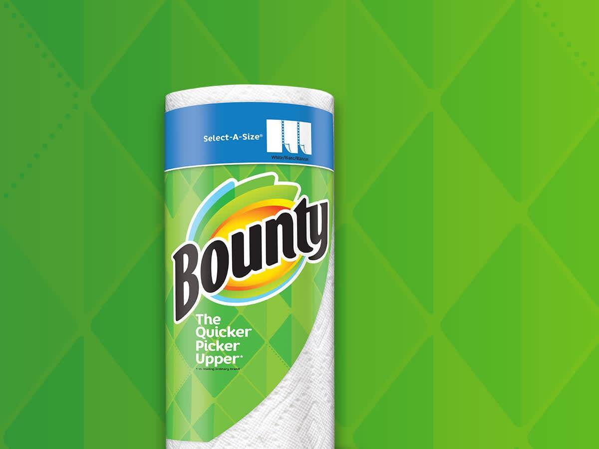 picture about Bounty Printable Coupons identified as Bounty PG Every day