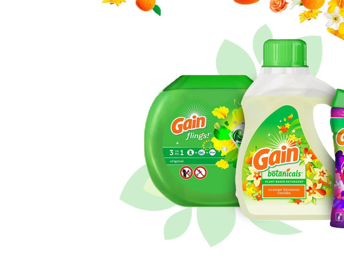photograph regarding Gain Detergent Coupons Printable named Income PG Daily