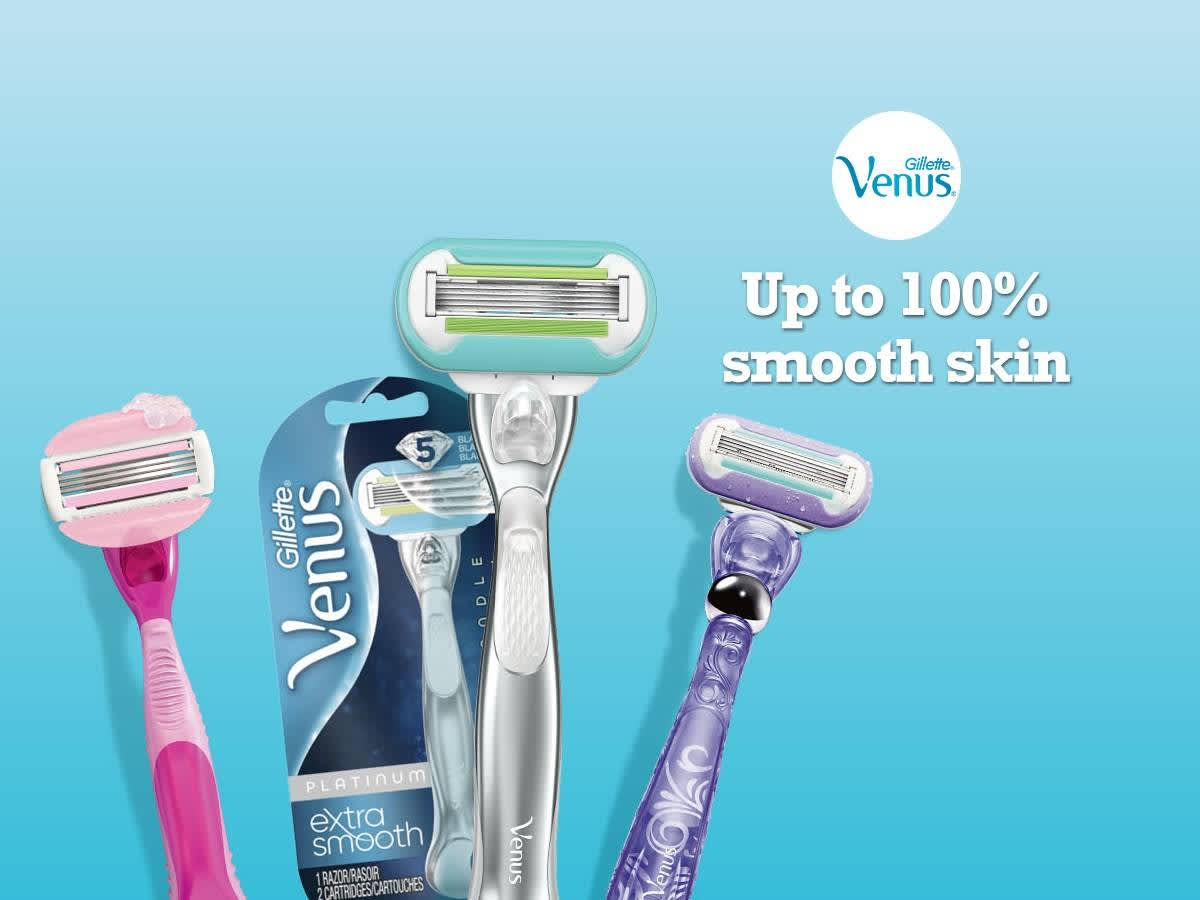 graphic relating to Venus Razor Coupons Printable titled Venus PG Every day