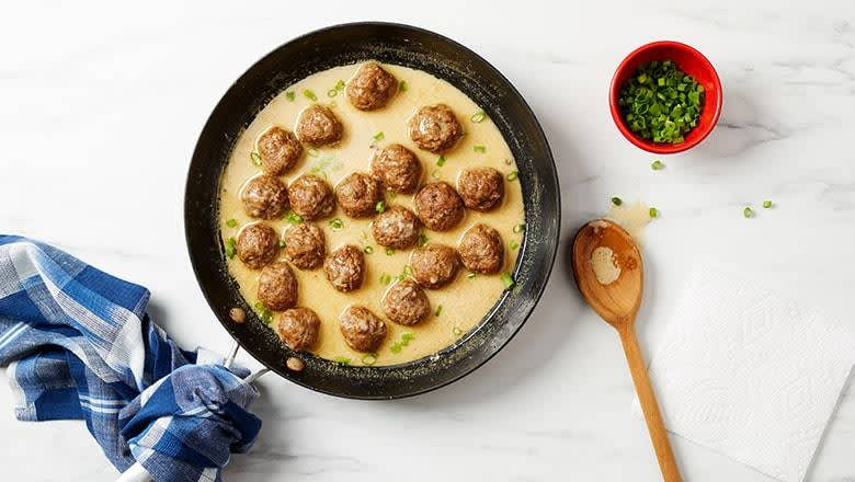6 healthy freezer meals for busy weeknights - swedish meatballs