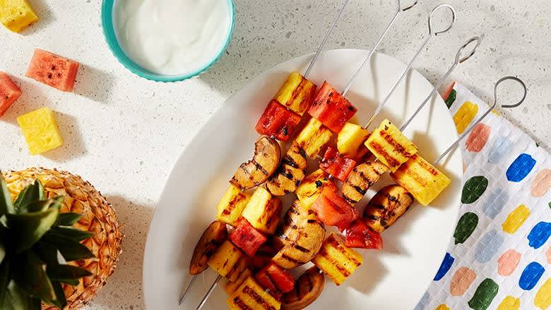 Thrill of the Grill - Fruit Skewers
