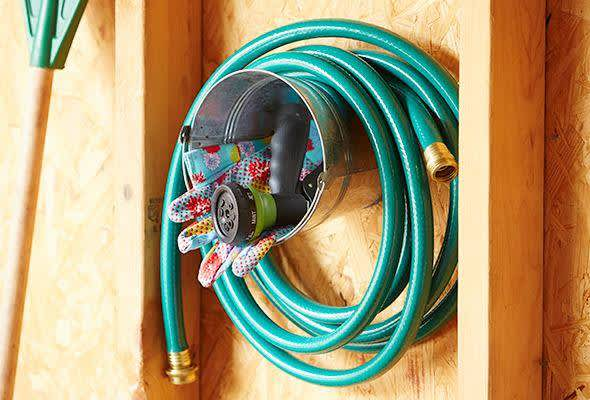 4 Garden Hose Storage Ideas