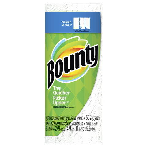 photograph regarding Bounty Printable Coupons named Bounty Pick out-A-Dimension Paper Towels PG Every day