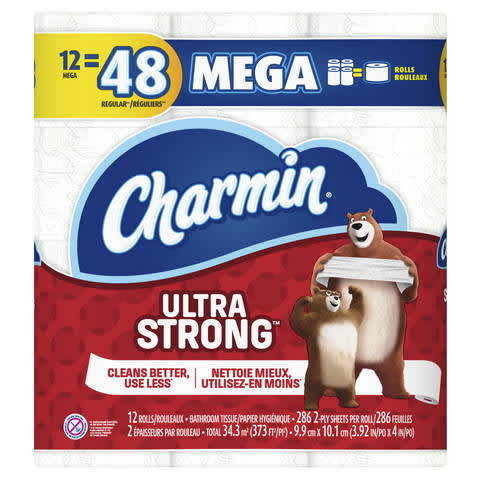 picture relating to Charmin Printable Coupon named Charmin Extremely Highly effective Rest room Paper, Mega Rolls PG Every day