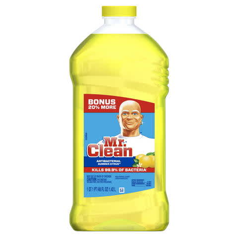 image regarding Mr Clean Coupons Printable titled Mr. New Antibacterial Multi-Show up Cleaner PG Every day