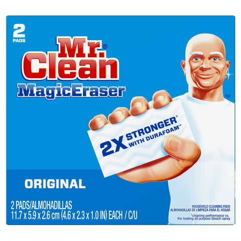 image about Mr Clean Coupons Printable known as Mr. Contemporary Magic Eraser Primary PG Day-to-day