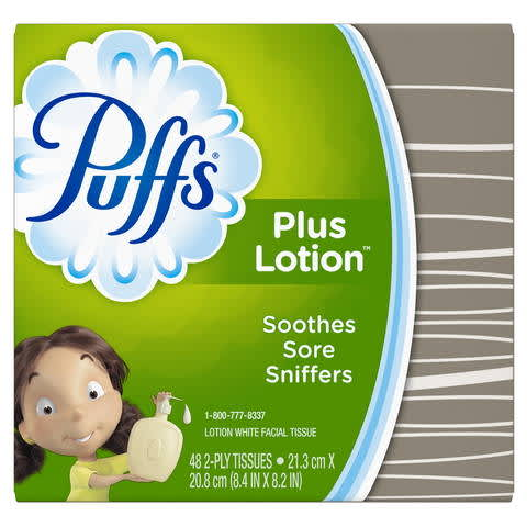 picture relating to Puffs Coupons Printable titled Puffs In addition Lotion Facial Tissues PG Daily