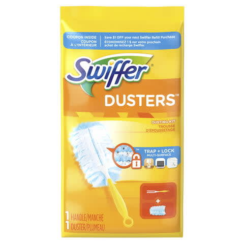 graphic relating to Swiffer Printable Coupons titled Swiffer Dusters Dusting Package PG Each day