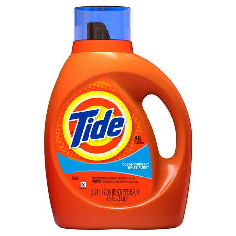 photograph about Tide Simply Clean Printable Coupons identified as Tide Liquid Laundry Detergent, Contemporary Breeze PG Day-to-day