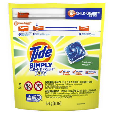 graphic relating to Tide Simply Clean Printable Coupons identified as Tide PODS Very easily New and Refreshing, Daybreak New PG Daily