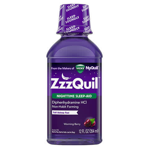 photograph regarding Nyquil Coupons Printable named Vicks ZzzQuil Nighttime Snooze Support PG Every day