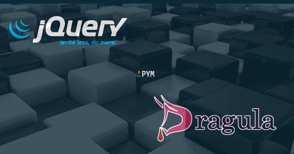 Gestionar elementos con JQuery y Dragula