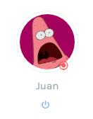 Imagen de perfil modificada al instante