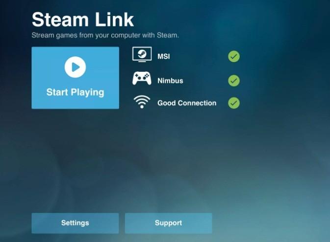 كيفية تشغيل تطبيق Steam Link على iphone وipad