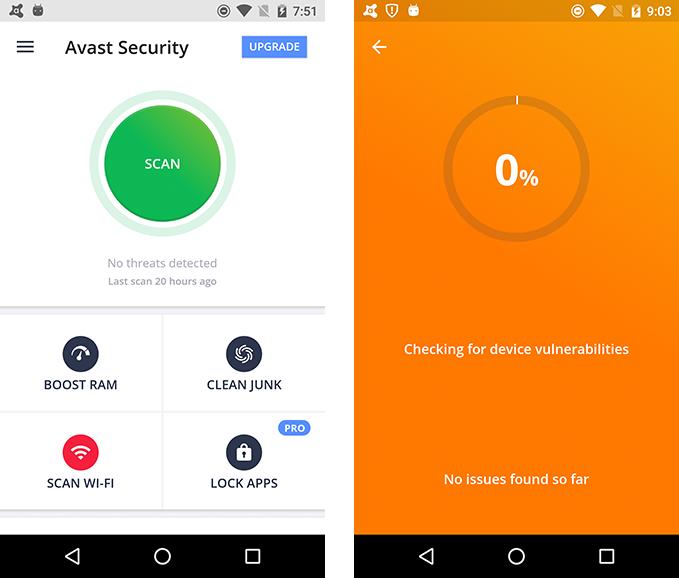 أفضل تطبيقات مكافحة الفيروسات لهواتف الأندرويد