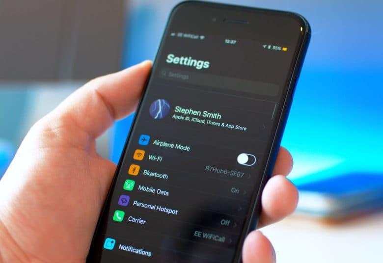 تغييرات في إعدادات WiFi و Bluetooth في ios 13 الجديد