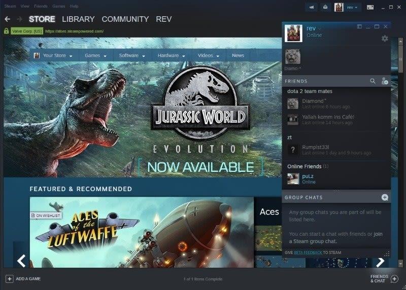 شركة Valve تعلن أن تطبيق Steam Chat متوفر الآن على أندرويد و ios
