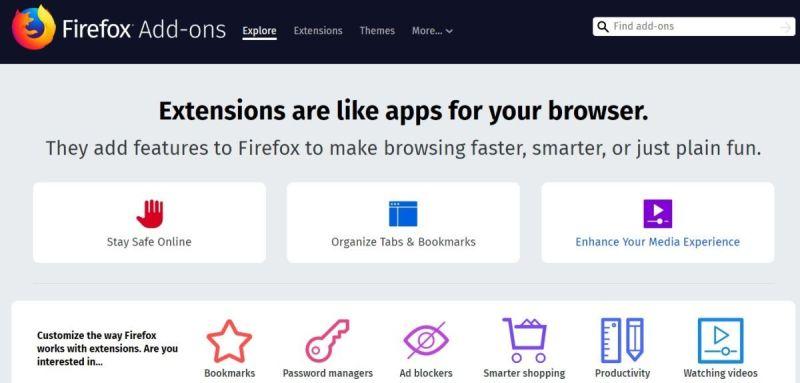 متصفح فايرفوكس يتعرض لمشكلة بشأن الإضافات وطريقة حلها