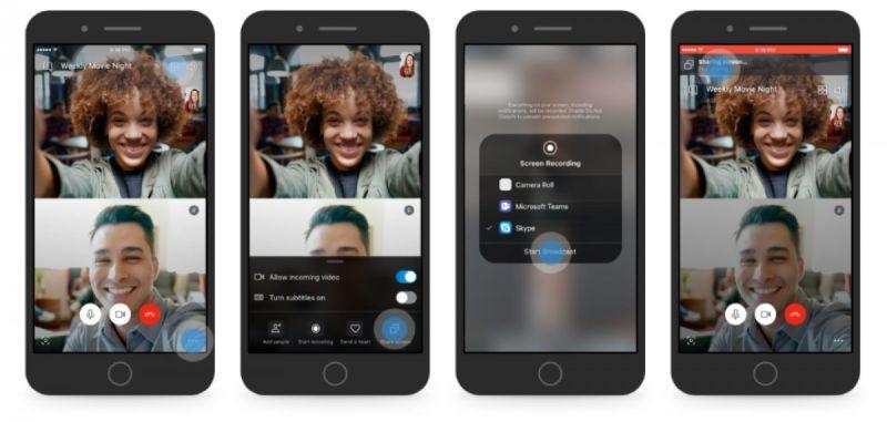 Skype تطرح رسميًا ميزة مشاركة الشاشة لأجهزة Android و iOS