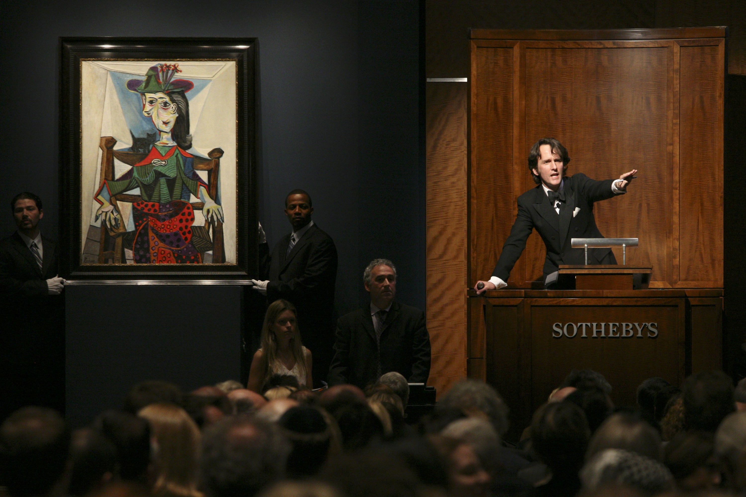 Sotheby's Auction House - Picasso