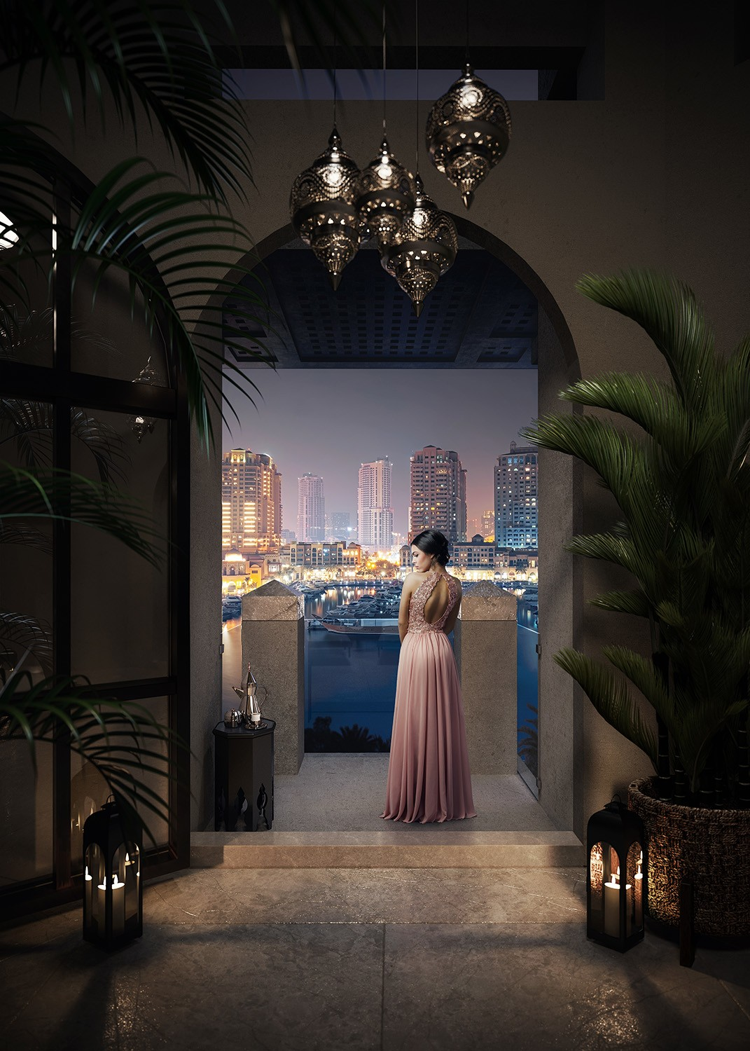 Penthouse View at The Residences at The St Regis Marsa Arabia Island