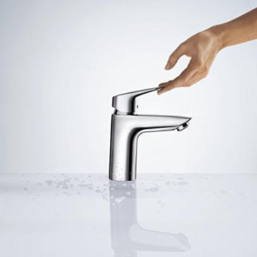 hansgrohe 71100001 logis 100 single hole faucet. Black Bedroom Furniture Sets. Home Design Ideas