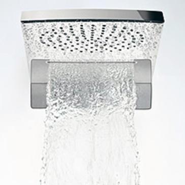 hansgrohe 28433 raindance rainfall air 180 showerhead trim. Black Bedroom Furniture Sets. Home Design Ideas