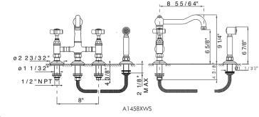 rohl a1458 image1 rohl faucets image2 - Rohl Faucets
