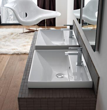 Bathroom Sinks Above Counter scarabeo 3004 above counter bathroom sink | qualitybath