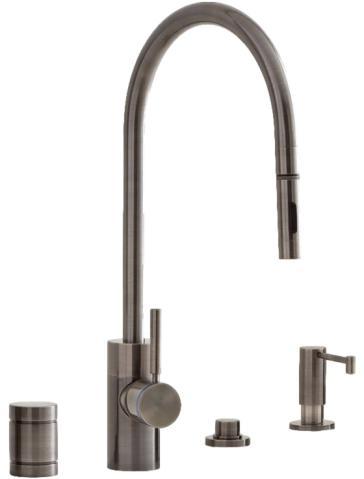 Positive Lock Pulldown Kitchen Faucet