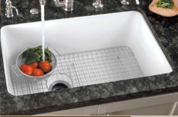 Rohl WSG Kitchen Sink Accessories Sink Grid QualityBathcom - Kitchen sink grid
