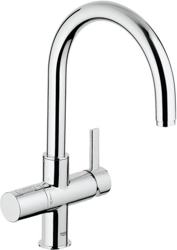 grohe 31312dc1 blue pure dual function faucet. Black Bedroom Furniture Sets. Home Design Ideas