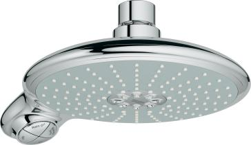 grohe 27767000 power soul 190 shower head. Black Bedroom Furniture Sets. Home Design Ideas