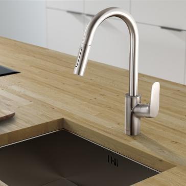 Hansgrohe 04505 Image 1  Hansgrohe Kitchen Faucet