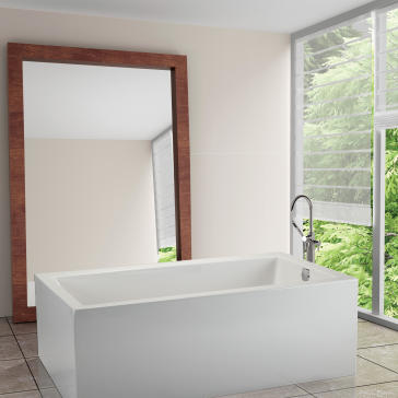 Mti S101a Andrea 11 Soaker Tub With Sculpted Finish