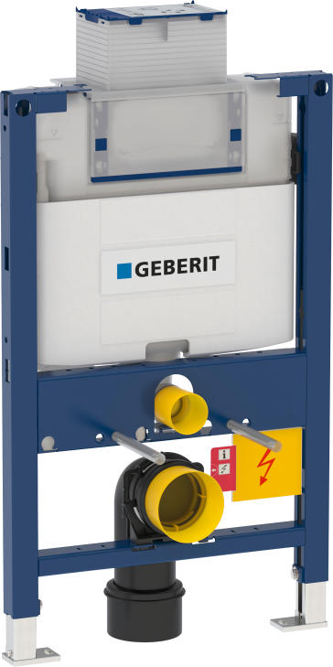 Geberit omega duofix carrier frame with for Geberit toilet system