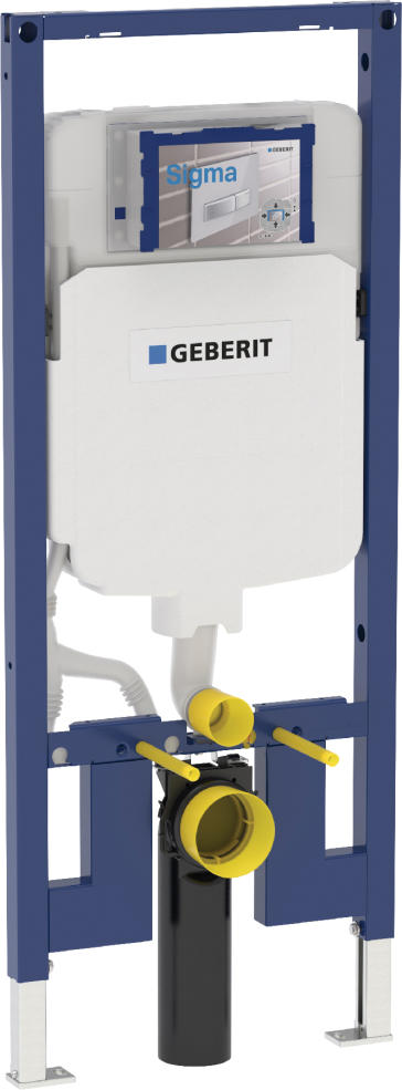 geberit carrier frame with sigma concealed