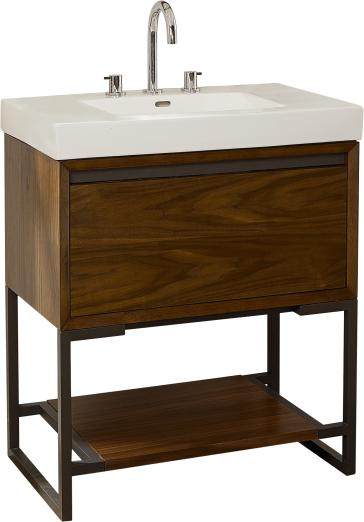 "Bathroom Vanity 30 X 18 fairmont designs 1505-vh3018 m4 30"" bathroom vanity | qualitybath"